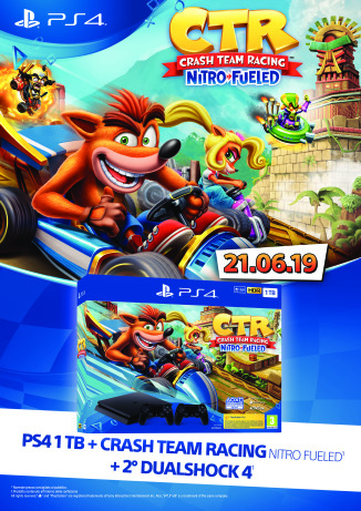 Locandine Crash Team Racing Nitro-Fueled